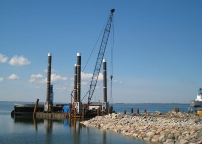 Construction of ro-ro ramp of quay no 6 in Paldiski South Harbour