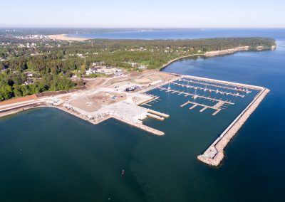 Design and Construction of Kakumäe Yacht Harbour